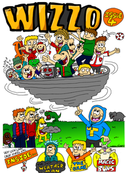 The Wizzo Front Cover Issue 4 by WizzKid97
