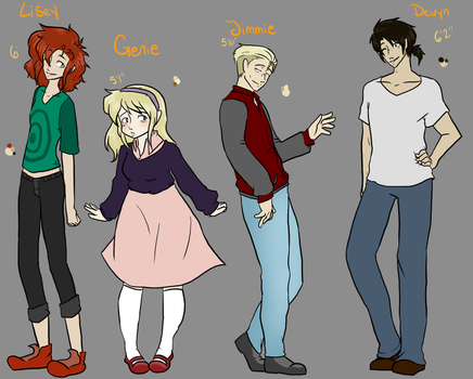 Violet Lanes Main cast  by Caryin