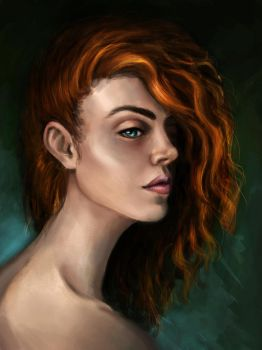 Redhead by Kceon