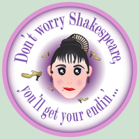 Nini: Don't worry Shakespeare by JaffaCakeLover