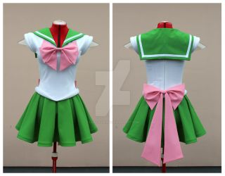 Super Sailor Jupiter cosplay commission by lady-narven