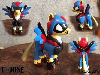 My Little SWAT Kats -- T-Bone by KatneySK