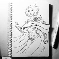 Instaart  - Power Girl (NSFW on Patreon) by Candra