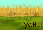 nap feline  YCH Points 10 SLOTS OPEN by lupalapa