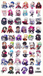 FATE/GRAND ORDER WAVE 2 CHARMS ON STORE! by GRAVEWEAVER