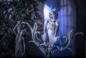 Aion 2.7. Tac Officer Leather set_ White archer by IcyIrena