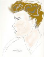 James Dean color by gARY519mOORE