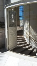 Chambord - Castle - Stairs 02 by HildaAlonso