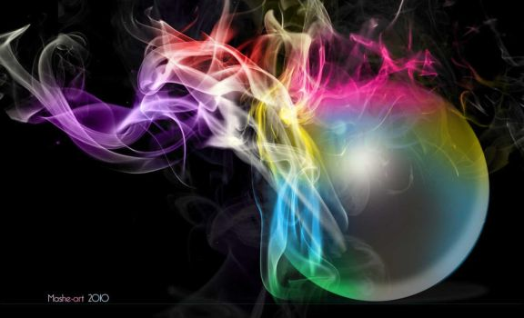 Colored smoke by ilmaMH