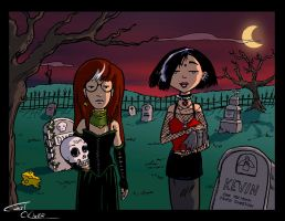 Gothic Daria and Jane by Christo-LHiver