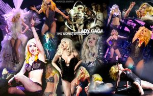 Monster Ball Wallpaper by PuppetMistress666