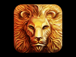 Lion Icon Design Process [GIF] by Ramotion