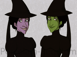 Wicked Witch Pride by Porcelain-Requiem