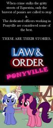 Law and Order: Ponies by Eviltwinpixie