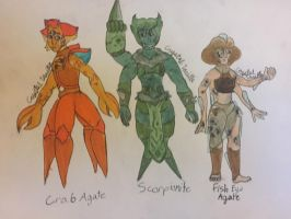 2/3 OPEN: Zodiac Fusion Gem Adopts (part1) by CrystalVanilla