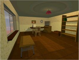 New House - Evening by aquifer