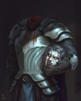 Headless Knight by ArtDeepMind