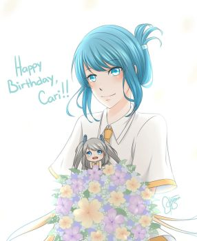 ExCo: Happy B-day, Cari! by himachan