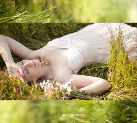 This beauty in the fields by Luthiae