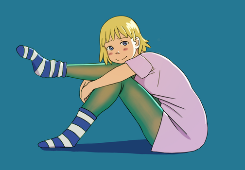 Patti and Stockings by Flurrin