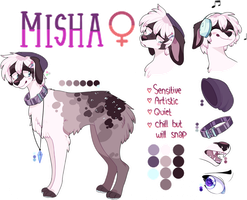 MISHA Reference Sheet COM by iyd