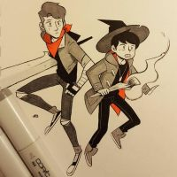 Bad Witch Boys by JE3