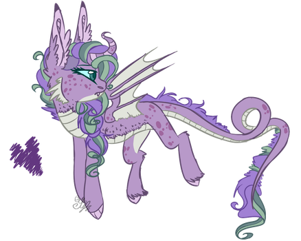 mlp [next gen] Glowning Crystal by DashkaTortik12222222