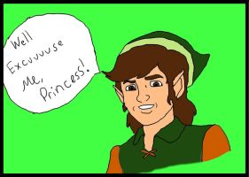 Link-Excuuuse Me Princess by joxerjettjace