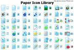 Paper Icon Library by alexwhite2