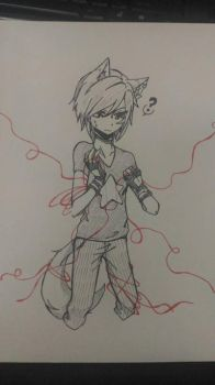Red String(s?) by criselaine