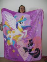 ME AND MAH BLANKET by KittyCatAddict