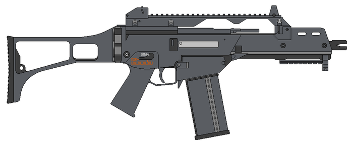 G36C Assault Rifle by RenegadeTH