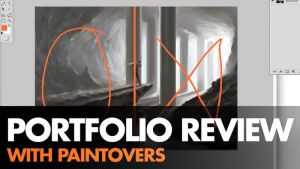 Portfolio Review and Paintovers by ClintCearley