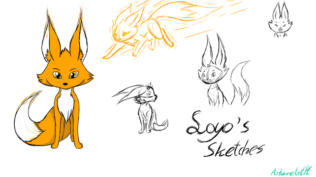 Loyo's Sketches by ArhereArtPL
