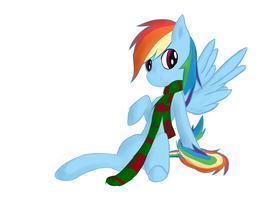 RD Likes My Scarf by DictionMLP