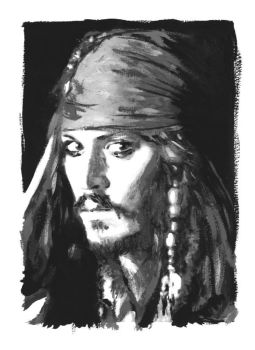 Depp as Jack - tiddlywink by jacksparrow