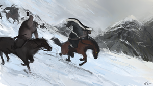 Charge of the Huns by SolMatter