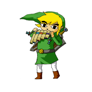 Toon Link by exampledesign