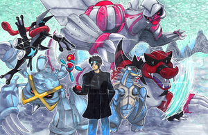 Commission: Pokemon Team Snowstorm