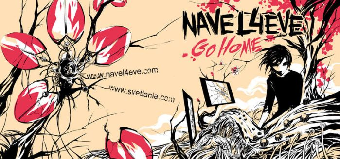 Go Home NAVEL4EVE album cover by svetlania