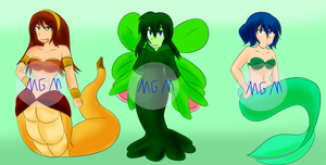 Assorted Adopts - CLOSED by MegaGundamMan