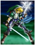 legend of zelda GS  link by mauroz