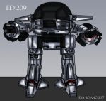 ED-209, Vectored version, High Quality by amazona2016