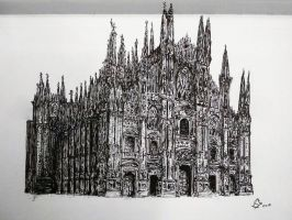 Duomo di Milano/Milan Cathedral by StephanoAnt