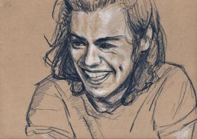 Happy Sketch. by steph--95
