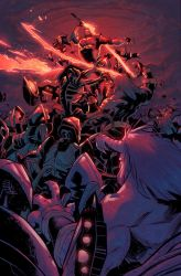 Starborn 7 Cover Colors by RyanLord