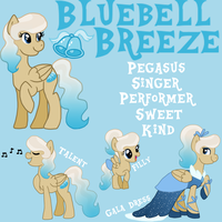 Official Bluebell Breeze Reference Sheet by Maddymoiselle