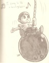 Came In Like A Bowling Ball by HowSplendid