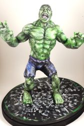 Finished Hulk by queenelf