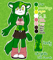 COMM: Virginia Reference by MintyStitch
